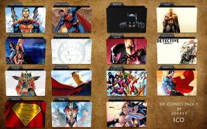 DC Comics Folder Icons by 3o1415
