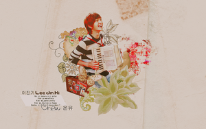 onew wallpaper by Partusan
