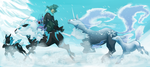 PKMNN: DASHING THROUGH THE SNOW by Zhoid