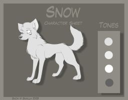 Snow - Character Sheet by Skailla