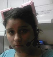 COMPLETE: Jigglypuff Headset by chaoticlatina