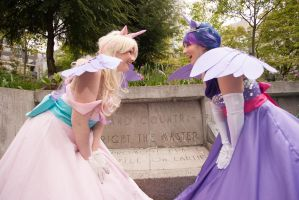 MLP:FiM - Sunshine Sunshine, Ladybugs Awake! by Eli-Cosplay
