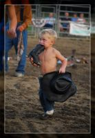 The Littlest Cowboy by WeezyBlue