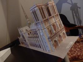 Notre Dame Scale Model by Twilights-Phantom
