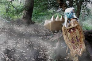 League of Legends: Poppy Cosplay - Fog of War by SpicaRy