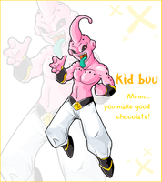 Kid Buu by Kuitsuku