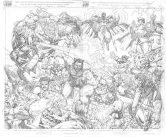 X-Men vs. Street Fighter by edtadeo