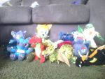 My Dragon/Pokemon/sonic Collection by EmptySpece