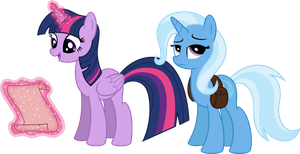 Twi and Trixie in the journey by MacTavish1996