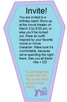 You're all invited by salsy1