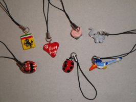Phone Charms 9 by BiancAlligator