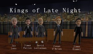 Kings of Late Night by Wanizame