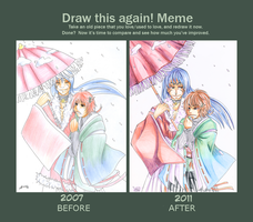 Draw this again meme by Iaikaa