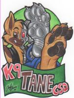 Tane Paw Badge by SketchDalmatian