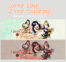 Cover Zingme ( 2 ver coloring) Gif for Chanriez by Shawolki