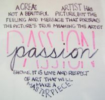 Love for Passion by athletiger