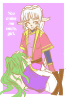 ++Her smile++ by CrimsonValefor