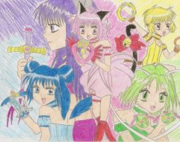 mew transforming by Iloveyoukisshu