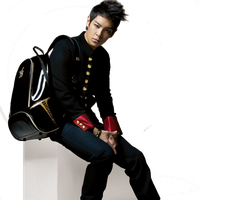 Big Bang T.O.P render by Sezaoy