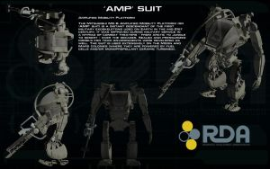 'AMP' Suit ortho by unusualsuspex