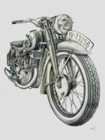 DKW NZ 350 1939 by giannisk