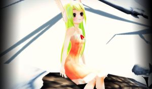 .: MMD Art Battle - Week 1 :. Observing The View by IGetHighWithPeelz