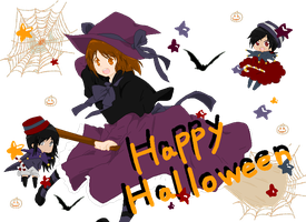 .:Happy Halloween:. by kiba-kun1289