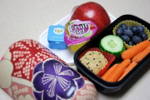 Healthy Snack Bento by Demi-Plum