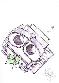 Wall-E by kawaiidogpoo