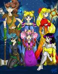 Pretty Sailor Soldiers by Serene-Blue