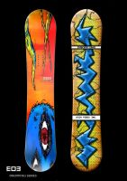 DROPPING After Death Snowboard by NathanielBart