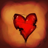 broken heart by amedved
