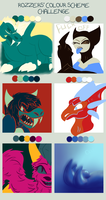palette challenge by Ded-Fire-Dragon
