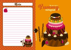 yummy notepad by ccouette