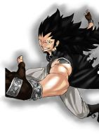 Gajeel Color by AgusC95