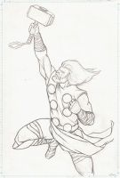 The Avengers Poll-Thor Prelim by carstenbiernat