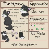 Timidpaw's Application by TimidCute