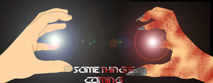Somethings Coming Poster by iccallia