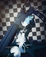 Pretty Black Rock Shooter by pink-hudy