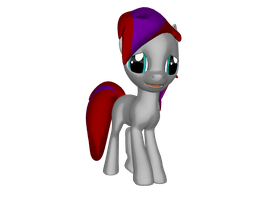 Amy in 3D Pony Creator by Imp344