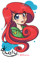 Keely the Little Mermaid by Hannavi