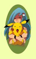 [Pikachu Trainer] by oukay