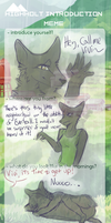 HH Introduction Meme by ivoryfeathers