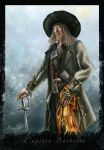 Captain Barbossa by Lanfirka