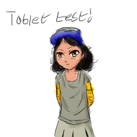 Clementine (Tablet Test Sketch) by Crazyb2000