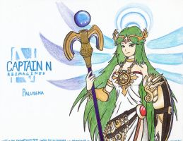Captain N RE. - Palutena by WMDiscovery93