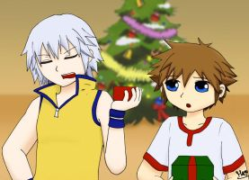 Kingdom Hearts: That Christmas by Inuchiha
