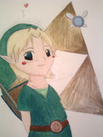 Link - Triforce by OH-realmonsters