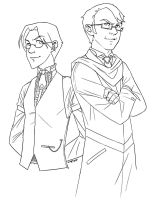 Percy and Reginald by emperial
