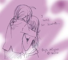 I miss you... by Mynulet